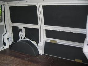 Isolierung Des Camper Bus Innenraums